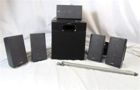 infinity hts 10 home theater speaker system w sony sa wm20