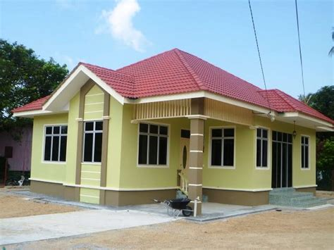 model desain rumah minimalis sederhana  kampung
