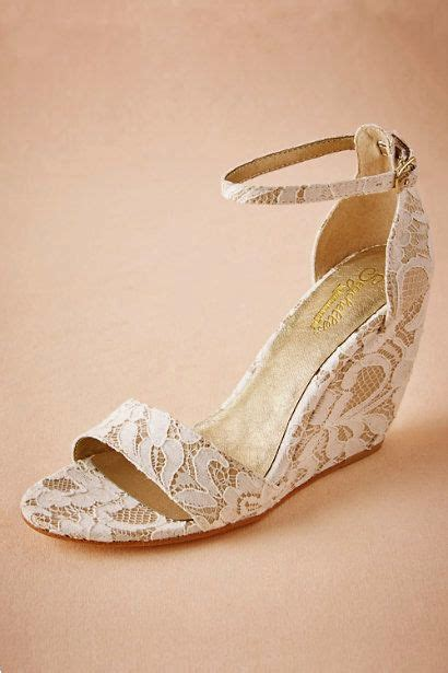 Lace Wedge Bridal Shoes by Best 25 Wedge Wedding Shoes Ideas On Bridal