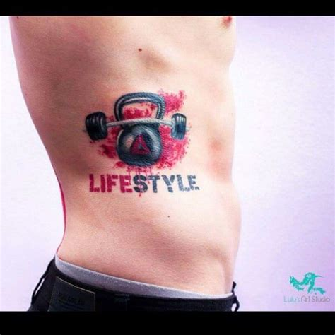 tattoo quotes gym fitness is more than a commitment it s a lifestyle by