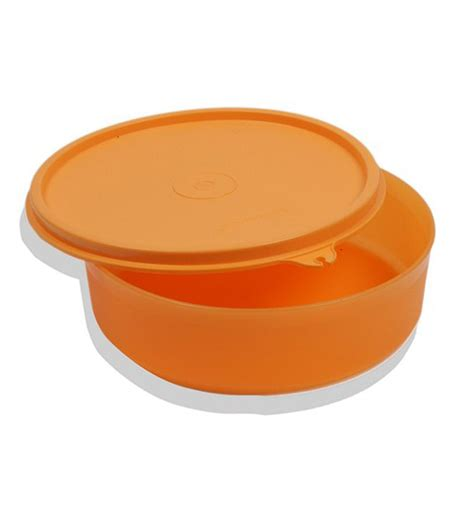Tupperware Large Handy Bowl tupperware large handy bowl orange colour 500 ml by