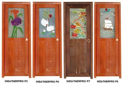 Pintu Pvc Kamar Mandi Warna Kayu gambar pintu kamar mandi fiber rumah minimalis