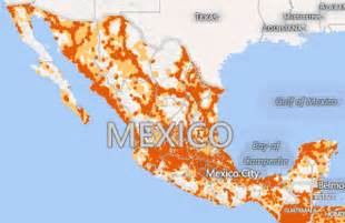 Verizon Mexico Coverage Map by Cellular Maps Com Mexico Wireless Coverage Comparison
