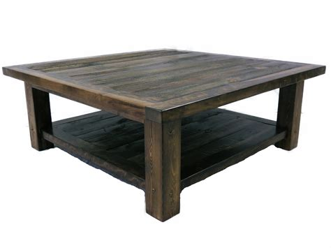 the wyoming collection square coffee table