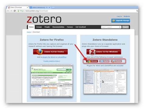 tutorial zotero chrome wie man zotero installiert und notizen quellen und