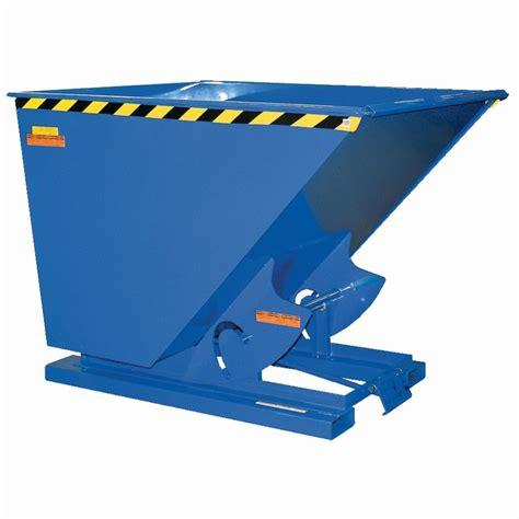 new design criteria for hoppers and bins self dumping steel forklift hopper bins w bumper release