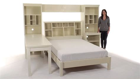 teenage beds enjoy a functional blend of style and storage with these teen beds pbteen youtube