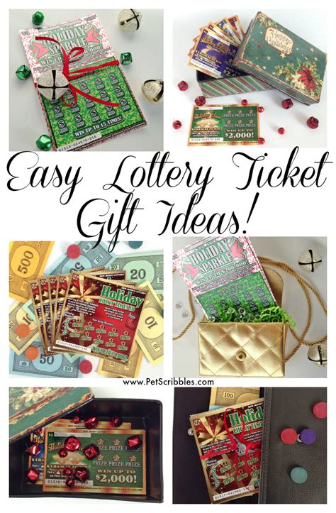 And Easy Ideas To Give You An Instant Lift - how to creatively gift nj lottery instant