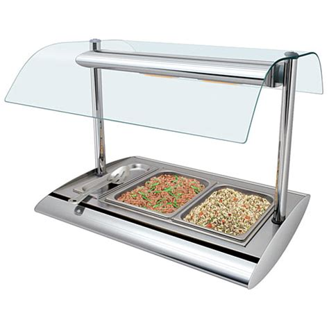 buffet sneeze guard buy hatco srbw 1 serv rite portable buffet warmer w sneeze guard at kirby