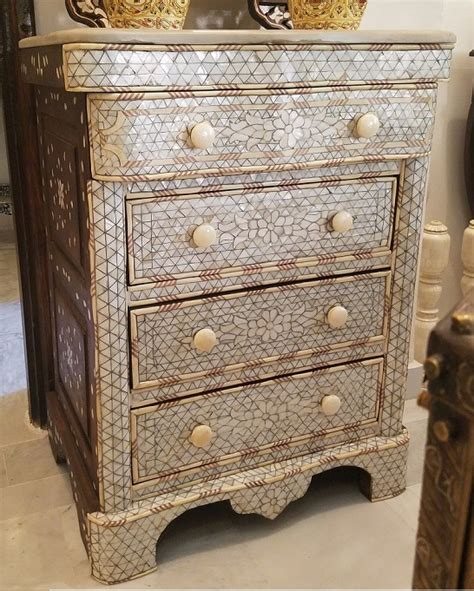 Of Pearl Dresser by Justmorocco Aleppo Of Pearl Dresser