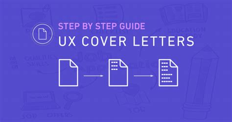cover letter step by step ux cover letters a step by step guide ux beginner