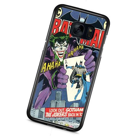 Casing Samsung S6 Batman Comic Custom batman joker comic samsung galaxy s7 samsung galaxy samsung custom samsung
