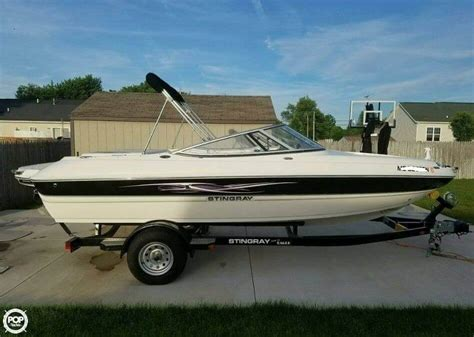 boats for sale in adrian mi 2012 used stingray 208lr sport bowrider boat for sale