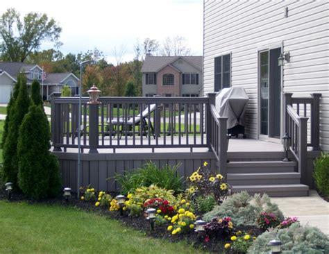 geländer draußen ideen terrasse design