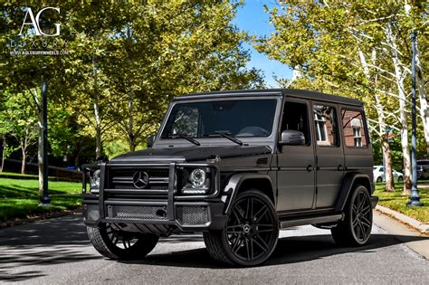 Mercedes Amg G63 by Ag Luxury Wheels Mercedes Amg G63 Agl44 Forged Wheels