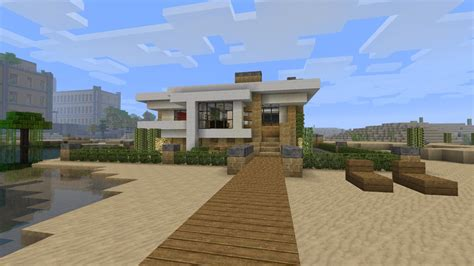 minecraft modern house tutorial modern minecraft house tutorial gallery