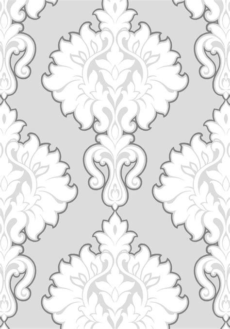 wallpaper grey damask grey and white damask wallpaper