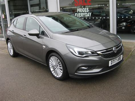 vauxhall grey used cosmic grey metallic vauxhall astra for sale