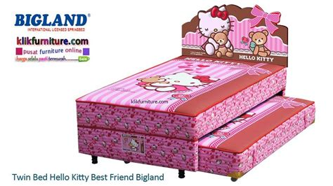 Bed Bigland Ukuran 2 bed hello best friend bigland springbed promo