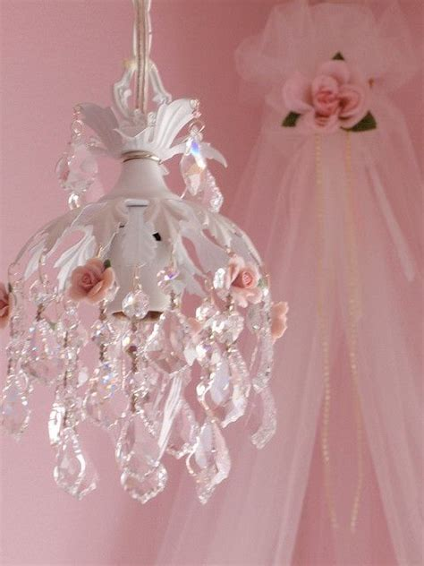 Shabby Chic Mini Chandelier Pin By Sherry Marsha On Chandeliers