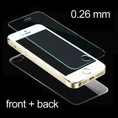 Pelindung Hp Untuk Di Air marah pelindung layar kaca untuk iphone 5 5s 4 4s 6 ditambah 1 pc depan 1 pc kembali total 2