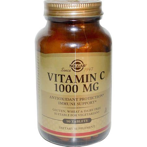 Vitamin C 1000 Mg Solgar Vitamin C 1000 Mg 90 Tablets Iherb
