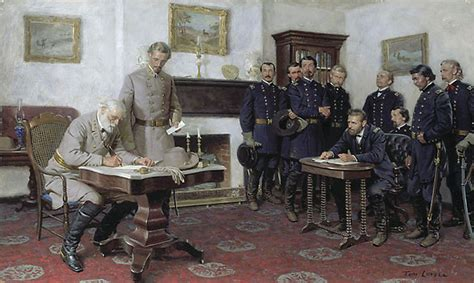 Battle Of Appomattox Court House by On This Date In Civil War History Surrenders At
