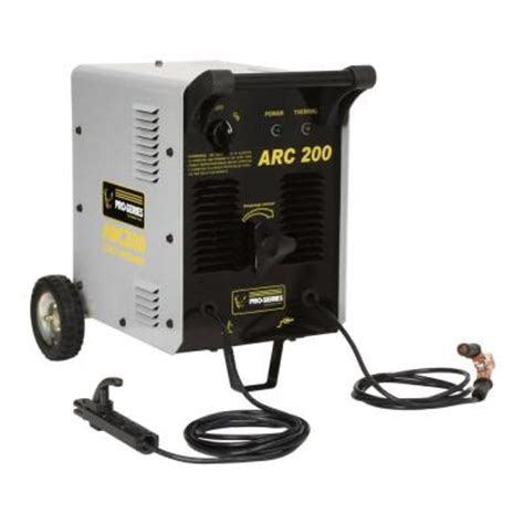 pro series arc 200 stick welder kit ps07571 the home depot