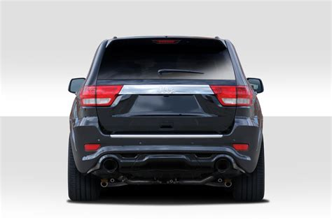 jeep grand cherokee rear bumper duraflex grand srt look rear bumper body kit 1 pc for