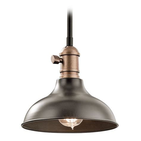 Kichler Lighting Cobson Mini Pendant Light With Bowl Kichler Mini Pendant Lights