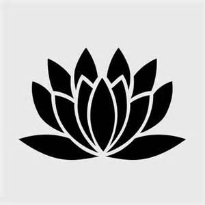 Lotus Stencil Lotus Flower Stencils Www Imgkid The Image Kid Has It