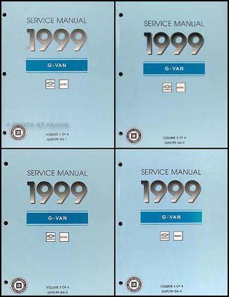 auto repair manual free download 1999 chevrolet express 3500 windshield wipe control 1999 express and savana repair shop manual 4 volume set original