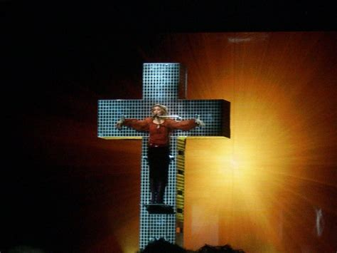 Nbc Special Wont Show Madonna On Cross by Quot Live To Tell Quot Revised For Tv Special And