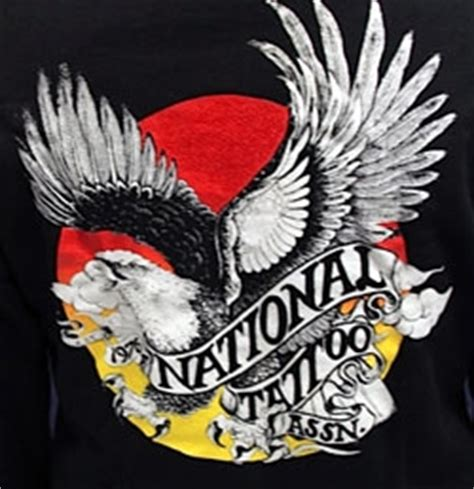 national tattoo association national association hooded sweatshirt