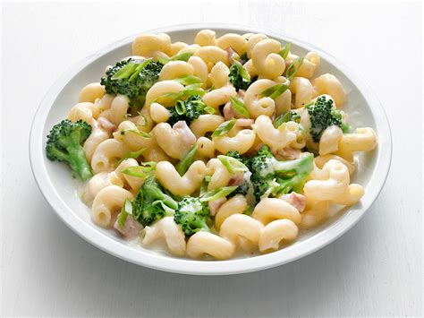Mac Kitchen Knives Broccoli And Bacon Mac And Cheese Recipe Food Network