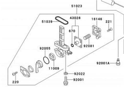 petcock diagram cog c10 technical page petcock rebuild kit
