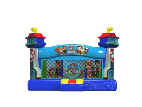 inflatable bouncy toy paw patrol paw patrol bounce house for sale channal inflatables