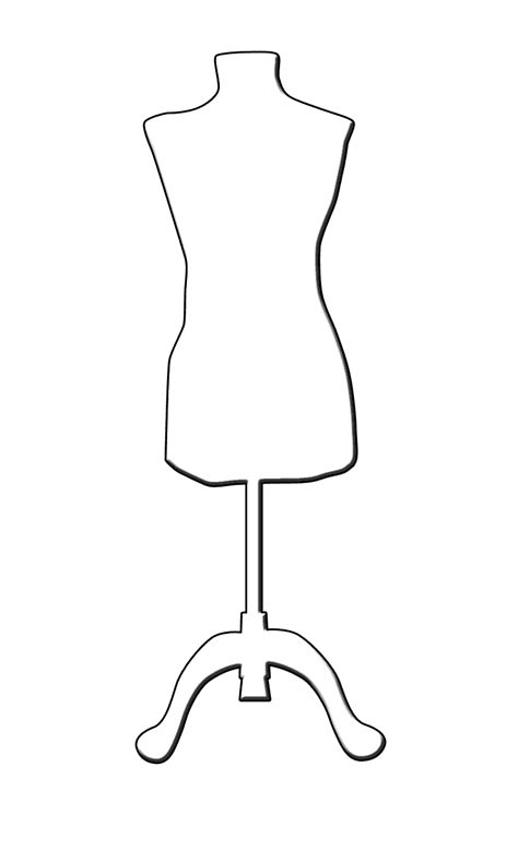 Mannequin Outline the boot kidz tailor s mannequin dressform