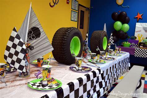 monster jam truck party supplies nestling monster truck party reveal