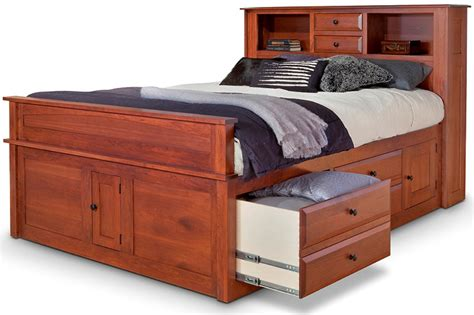 captains bed queen queen captains bed ideas suntzu king bed queen captains bed with bookcase headboard