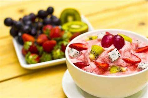 membuat es sup buah cara membuat es buah susu segar sederhana resep cara
