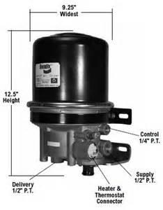 Air Brake System Leaks Air Dryer Leak The Truckers Forum