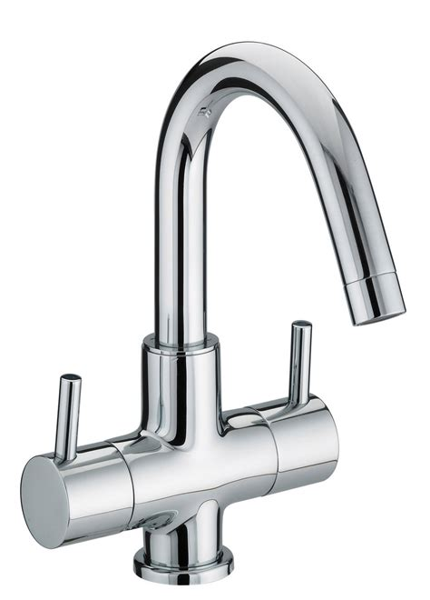 Mono Bath Shower Mixer bristan prism 2 handle basin mixer tap with swivel spout