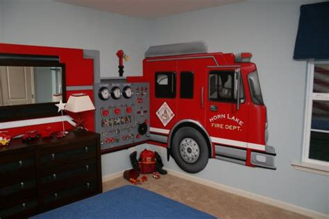 fire truck bedroom decor 17 images about michael s fire station room on pinterest boy beds toddler rooms