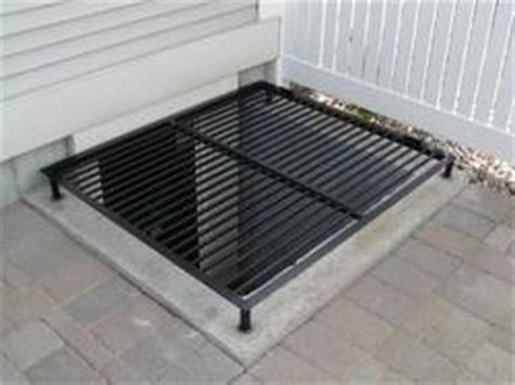egress window grates basement ideas
