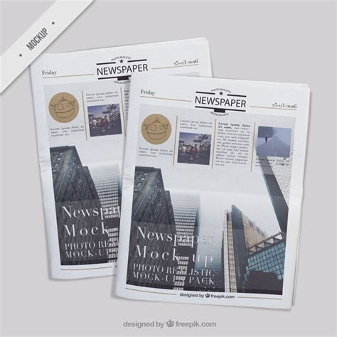 newspaper office layout several realistic newspaper mockups psd file free download
