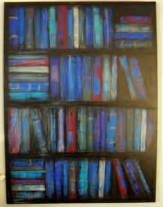 Paint Bookshelves Make The Best Of Things Blue Bookcase Painting