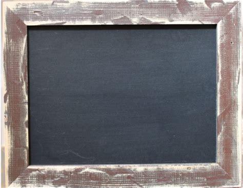 Tafel Mit Holzrahmen Braun 5cm Schwarz