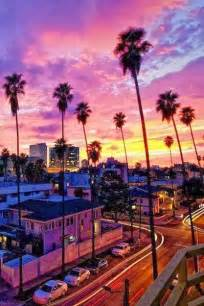 los angeles california beautiful sunset shared by