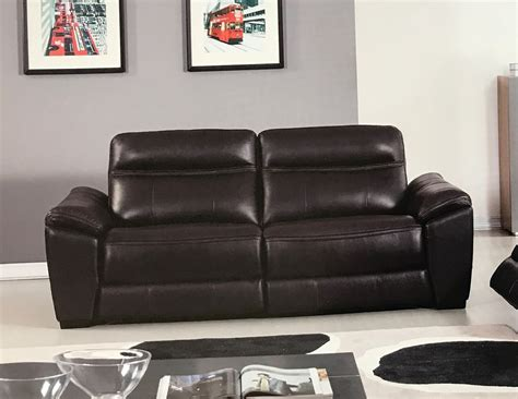 Brown Leather Recliner Sofa Forma Italian Brown Leather Power Recliner Sofa